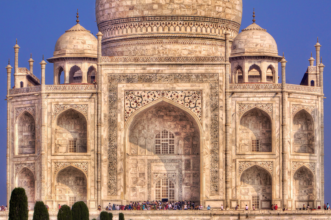 Face of the Taj Mahal