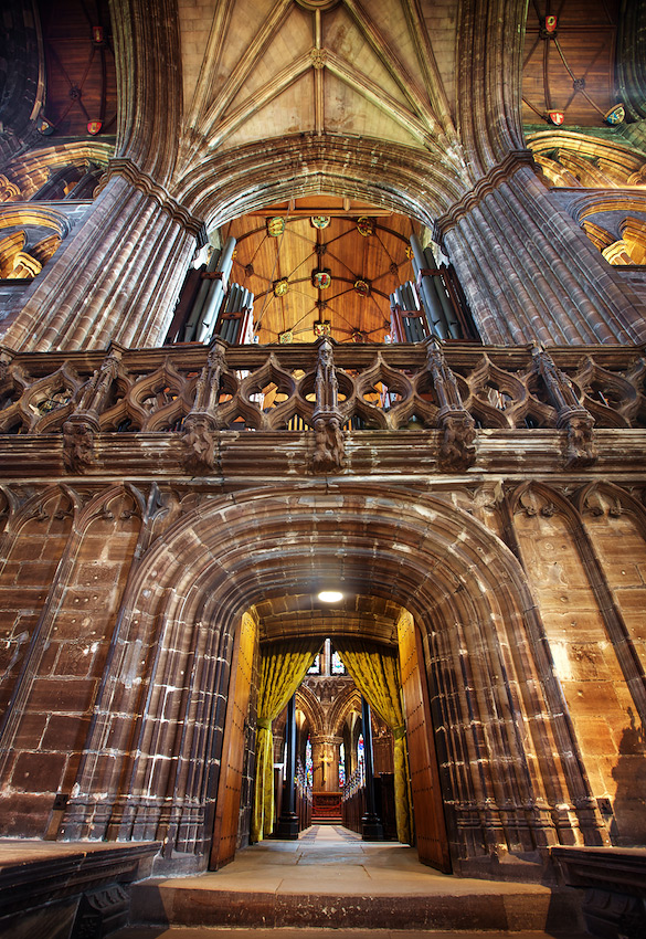 Inside Glasgow Cathedral - High Kirk of Glasgow