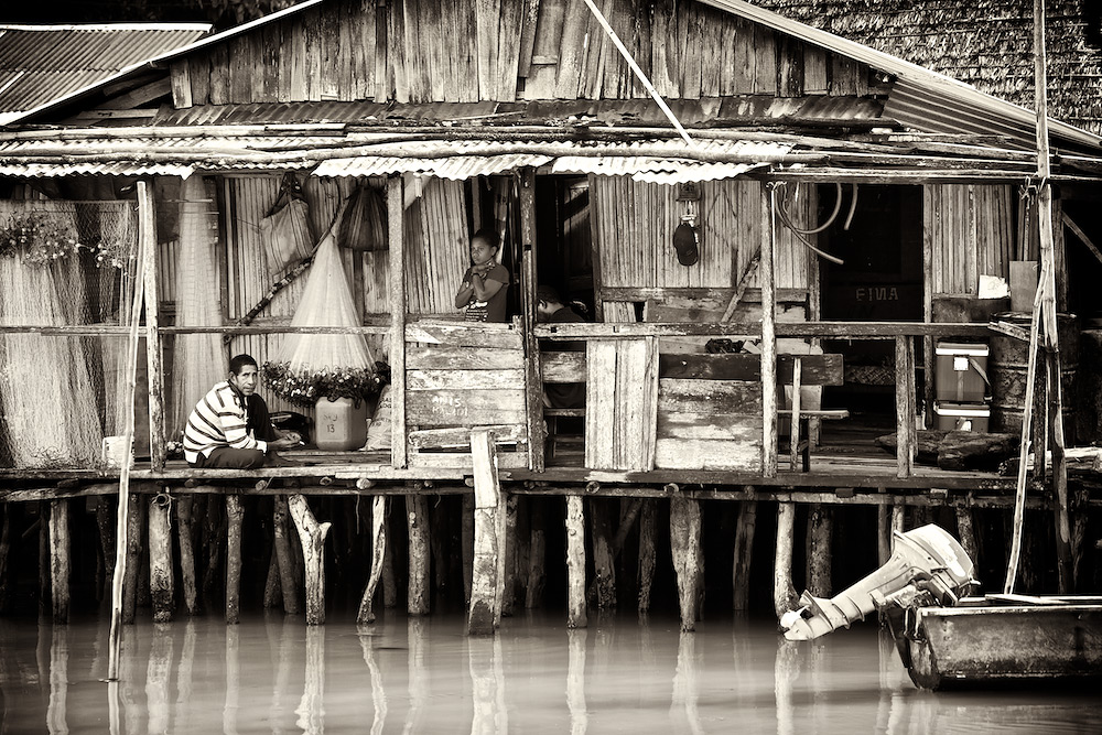 The Fisherman's House on Stilts