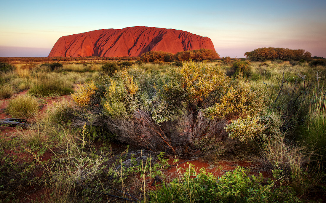 Uluru Sunset - Ayers Rock, Red Center, Australia
