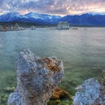 Mono Lake Tufa at Sunset