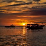 Bunaken Island Sunset