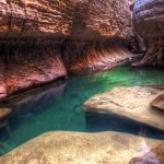 Canyoneering in The Subway, Zion