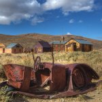 Abandoned Rusty Car - Bodie Ghost Town