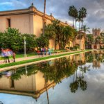 Balboa Park Koi Pond Reflection - HDR - San Diego, CA