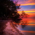 Brilliant Color After Sunset - Key Largo, Florida