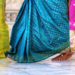 Bare Feet and Colorful Saris
