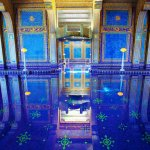 Blue Pool Reflection - Hearst Castle Indoor Pool - Roman Pool