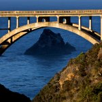 Behind Bixby Bridge - Highway 1, Big Sur, CA