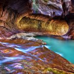 Light in The Subway - Canyoneering in Zion National Park