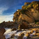 Empty Mansion on the Sea Cliffs - Corona del Mar, CA