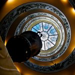Double Helix Spiral Staircase - Vatican Museum