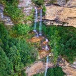 Katoomba Falls - Blue Mountains - near Sydney, Australia