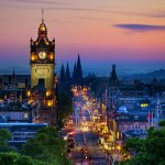 Balmoral Hotel Clock Tower, Edinburgh Princes Street