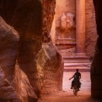 Petra Jordan - The Treasury - Indiana Jones in Real Life