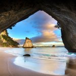 Cathedral Cove Sea Cave